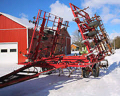 25' to 35' S-Tine Cultivator