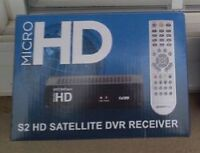 FREE TO AIR SATELLITE DVR RECEIVER NEW IN BOX NEVER OPENED