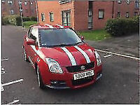 SUZUKI SWIFT SPORT 2008 ONLY DONE 42000 MILES GREAT CAR