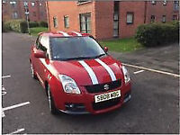 SUZUKI SWIFT SPORT 2008 ONLY DONE 42000 MILES SUPERB CONDITION LOVELY CAR