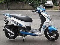 Sym jet 4t 2013 125cc scooter moped