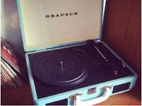 Grausch record player brand new with box