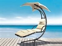 Delivered Azuma Dream Chair Swing Hammock Garden Sun Seat Helicopter Chair rrp £400 Like NEW