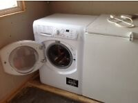 HOTPOINT AQUARIUS WASHER DRYER 7KG-EX CONDITION