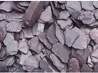 BULK BAG OF WELSH PLUM SLATE (Purple Slate)
