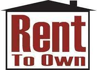 RENT TO OWN PROGRAMM - PERFECT SOLUTION FOR BUYERS!!!