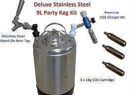 Homebrew Beer kegs New and Used , party kegs* Parramatta Park Cairns City Preview