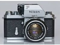 Wanted vintage film cameras, lenses and equipment. Good prices paid.