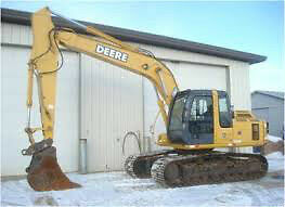 DEERE Hitachi 160 sticks and bucket plus other PARTS sawmill