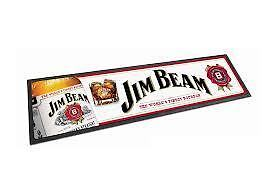 JIM-BEAM-BOUBON-PUB-DAD-MAT-BOTTLE-RUBBER-BACK-BAR-RUNNER-POOL-ROOM