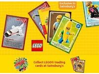 Lego Cards from Sainsbury