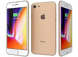 Apple iPhone 8, Gold 256GB -Use with any Sim - Brand New Sealed - Full Apple Warranty!!