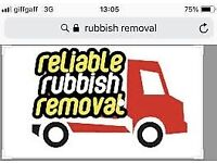 RUBBISH REMOVALS/MAN WITH A VAN