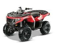 2015 ARCTIC CAT XR 500 WINTER SPECAIL COMES WITH FREE WINCH/PLOW