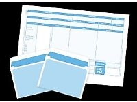 IRIS LASER PAYSLIPS AND ENVELOPES 250 PACK (aprox)