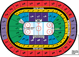 Vancouver Canucks in Buffalo Oct 20