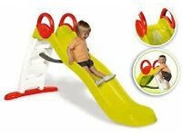 BRAND NEW BOXED SMOBY FUNNY LARGE KIDS CHILDRENS GARDEN SLIDE RRP £159