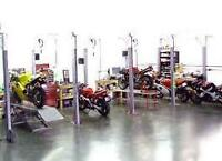 Motorcycle mechanic needed, must have trades ticket.