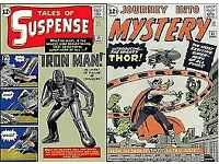 Wanted Tales of Suspense 39 and other marvel dc comics