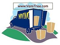 VansTree MAN AND LUTON VAN REMOVAL DELIVERY SERVICE MOVING TRUCK MOVERS HIRE WITH A BIKE RECOVERY