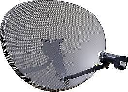 NEW SKY SATELLITE DISH WITH QUAD LNB