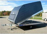 wanted enclosed trailer and or with sled package