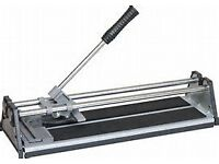 tiles and tile cutter
