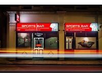 PART-TIME BAR STAFF REQUIRED FOR MEMBERS ONLY SNOOKER & POOL CLUB IN SE8