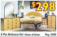 ★★★THIS WEEKEND SALE NEW Canadian Made bedroom set $298 mattress