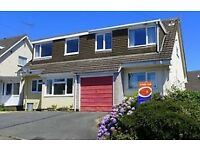 Affordable 3 bedroom family home in Bow Street, 4 miles from Aberystwyth