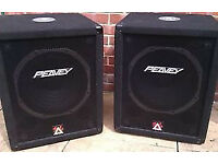 Peavey Eurosys 500xt bass sub speakers