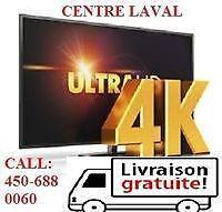 MEILLEUR PRIX AU CANADA,5000 TV SAMSUNG,LG,SHARP,SONY,HAIER HEISENS 24 MOIS GARANTI