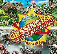 Chessington 2 tickets for the 19th of July