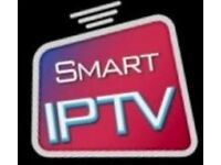 Iptv service 12 months trail available