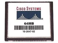 Cisco 64MB Compact Flash Card 16-2647-04