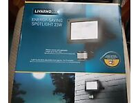 brand new in the box energy saving motion sensor 23w spotlight