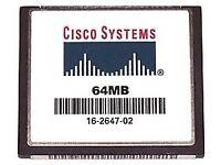 Cisco 64MB Compact Flash Card