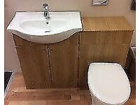 VISTA 650 BASIN & WC UNIT AVAILABLE SERPARATLEY