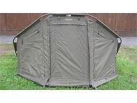 Brand new fishing bivvy Wychwood MAXimiser Shelter, complete with ground sheet, pegs and poles.