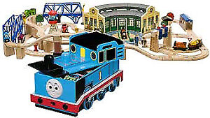 Thomas The Tank Set, Toychest, Extra Trains, Dust Cover