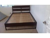 TRYSIL Ikea Double Bed + Mattress - Great Condition
