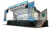 """Mobile Stage for Rent  36' X  14'  """"Book Now"""""""