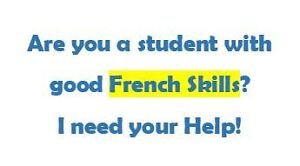 French Tutor Needed | Conversational French & Lang Test