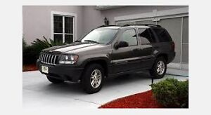 WANTED: 2000-2004 Jeep Grand Cherokee Limited SUV London Ontario image 2