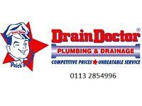 Plumber to carry out repairs and drain maintenance throughout Leeds, Wakefield and Huddersfield