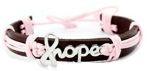 "Bracelets NEUFS Hope (""espoir"") - cancer du sein"