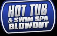 Hot Tub Warehouse Blowout! End of Season Over 30 spas to Clear!