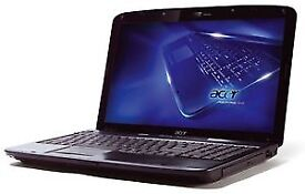 FAST CHEAP ACER CORE 2 DUO 4GB RAM 500GB LAPTOP WINDOWS 7 WEBCAM DVD