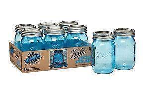 mason jars new used ball blue plastic mini ebay. Black Bedroom Furniture Sets. Home Design Ideas