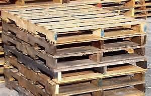 Used Standard Wooden Pallets/Skids